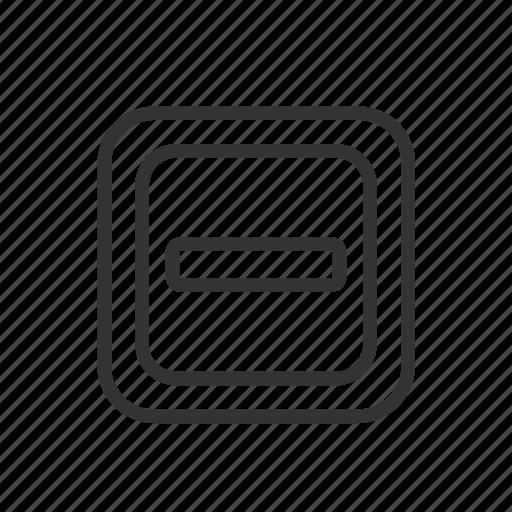 Minimalist, ux, minimize, window, ui, interface, page icon
