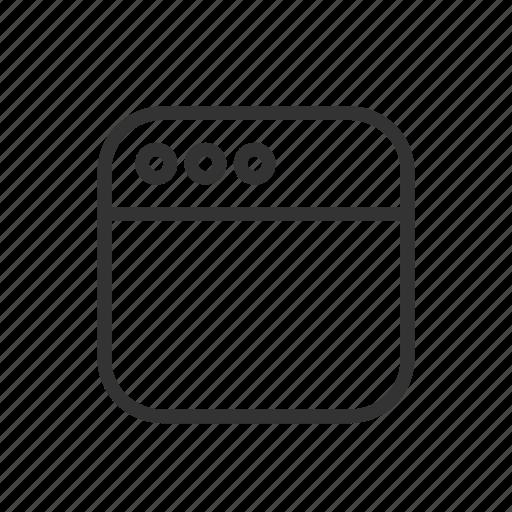 layer, minimalist, page, ui, ux, website, window icon