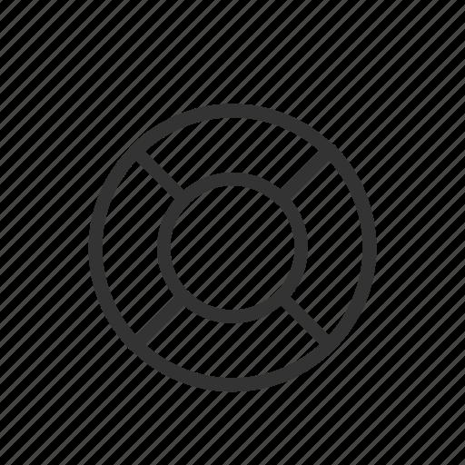 help, info, interface, minimalist, rescue, ui, ux icon