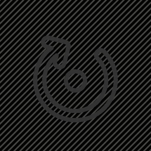 arrow, interface, minimalist, roate, rotation, ui, ux icon