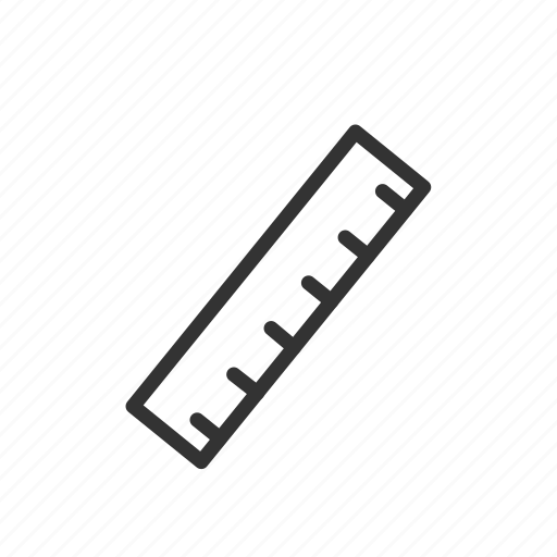 math, meter, minimalist, ruler, ui, ux, volume icon