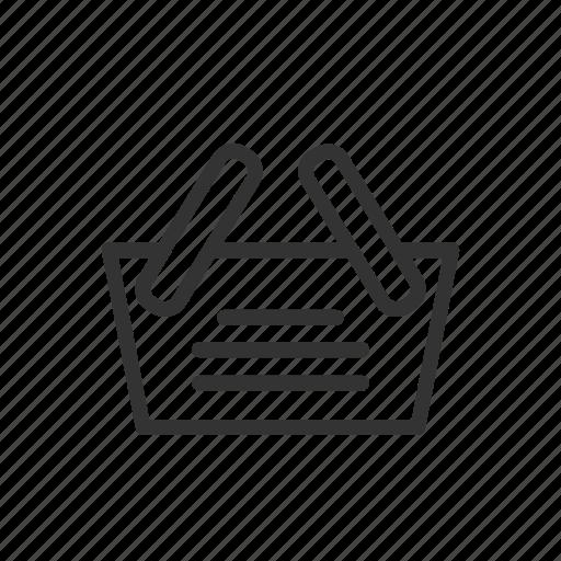 basket, buy, interface, minimalist, sale, ui, ux icon