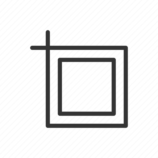 crop, interface, minimalist, resize, scale, ui, ux icon