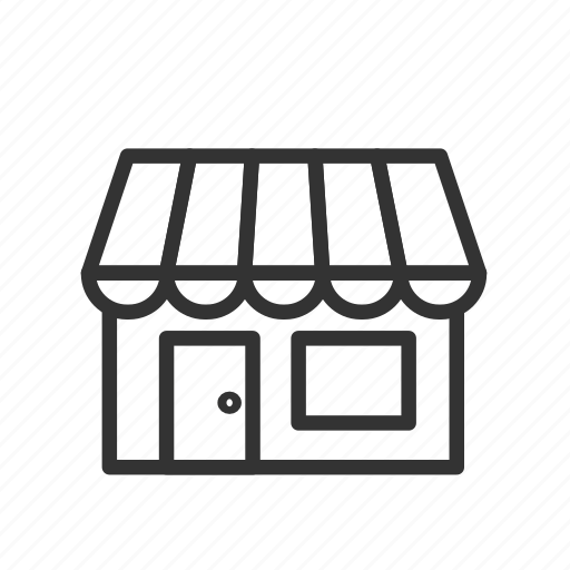 market, minimalist, sale, shop, store, ui, ux icon