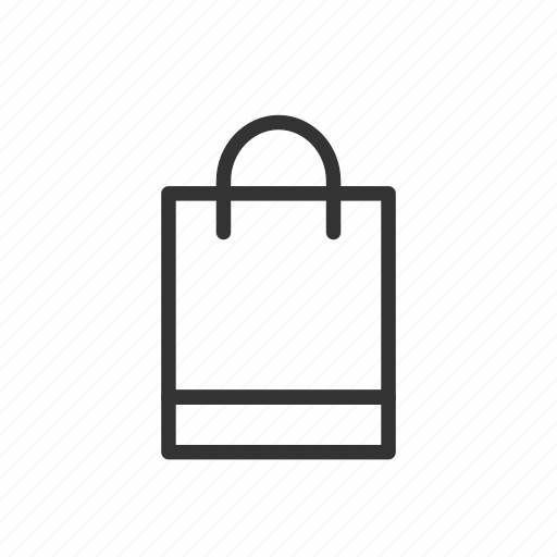 bag, minimalist, sale, shop, shopping, ui, ux icon