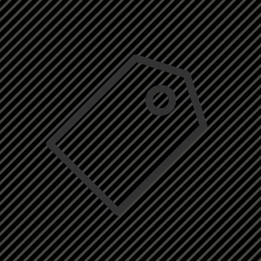 interface, minimalist, prize, sale, tag, ui, ux icon