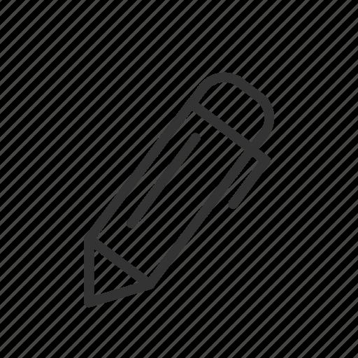 interface, minimalist, pen, type, ui, ux, write icon