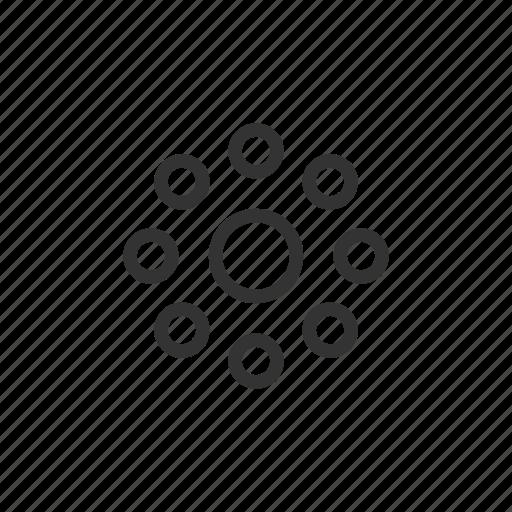 circle, interface, loading, minimalist, ui, ux, wating icon