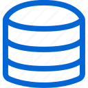 databese, disc, hard, harddisc, harddrive, server, storage icon