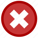 close, delete, exit, garbage, minus, remove, trash icon