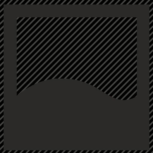 figure, fill, form, square, wave icon