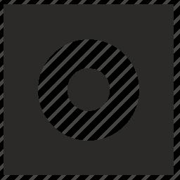 form, ornament, picture, square icon