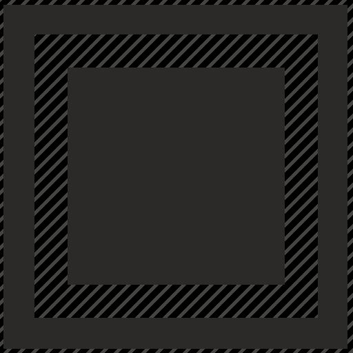 border, figure, frame, ornament, square icon