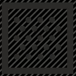 border, figure, fill, form, square icon
