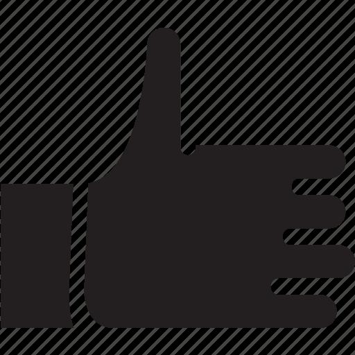 asset, fingers, gesture, hand, like, thumb, upvote icon