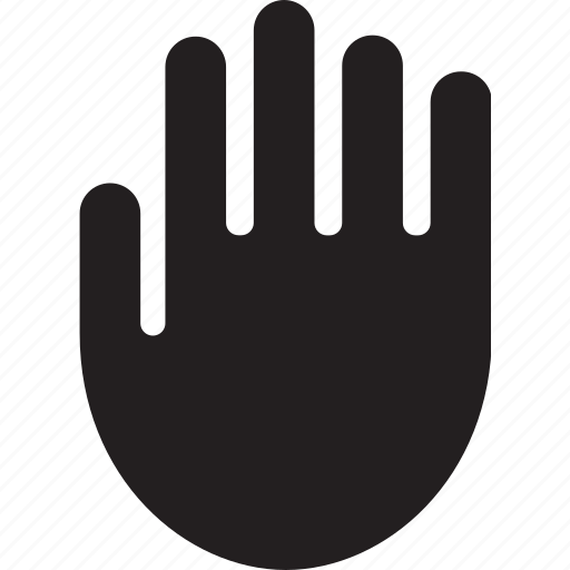 asset, fingers, gesture, hand, palm icon