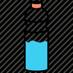 bib, bottle, drink, quaff, thirsty, watter icon icon