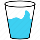 drink, glass, soda, water icon icon