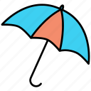 insurance, nature, umbrella, weather icon icon
