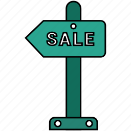 sale, sign icon icon