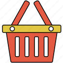 basket, buy, cart, online shopping, shop, shoppin icon