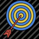 aspiration, darts, goal, target
