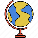 earth, global, globe, planet icon icon