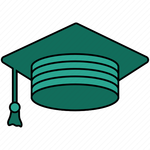 academia, cap, college, education, graduation, learning, school icon