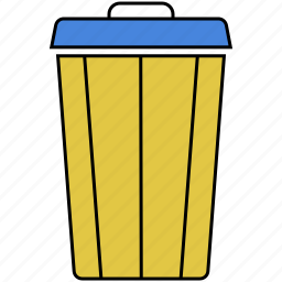 delete, dustbin, empty, recycle, recycling, remove icon
