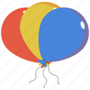 balloon, birthday, celebration, celebrations icon icon