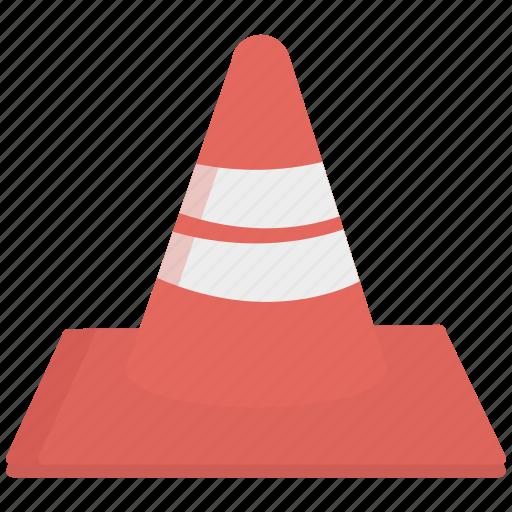traffic, traffic cone, vlc icon