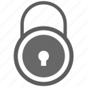 lock, login, password, private icon