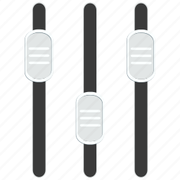 control, equalizer, music, sound icon icon