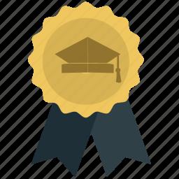 achievement, award, best quality, ribbon icon icon