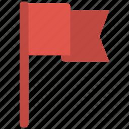 flag, waving icon icon
