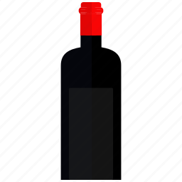 bottle, champagne, restaurant, wine icon icon