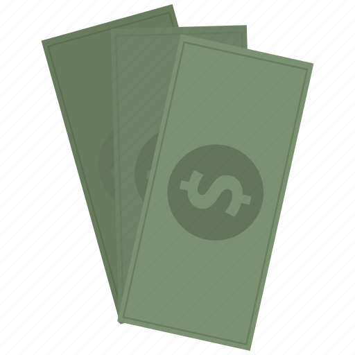 bills, cash, dollar, money icon icon