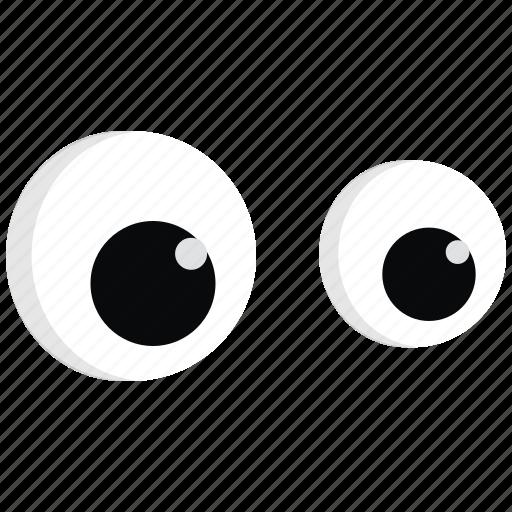emoji, expression, eyes, face icon icon