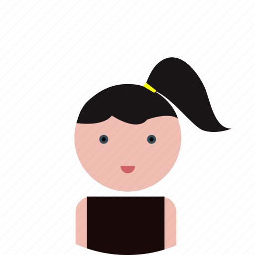 avatar, girl icon icon