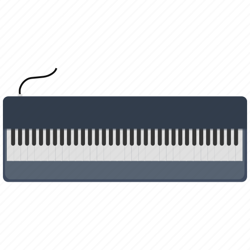 keyboard, musical instrument, musical keyboard, piano, piano keyboard icon icon