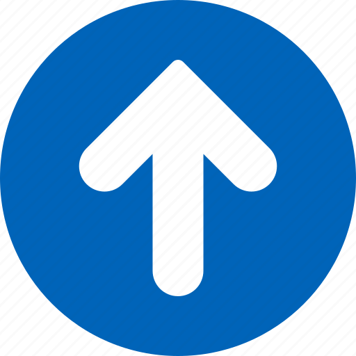 arrow, direction, grow, growth, increase, move, up icon