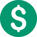 american dollar, cash, fiat money, finance, payment, united states bank, usa currency icon