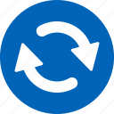 arrows, refresh, reload, rotate, sync, update, upload icon