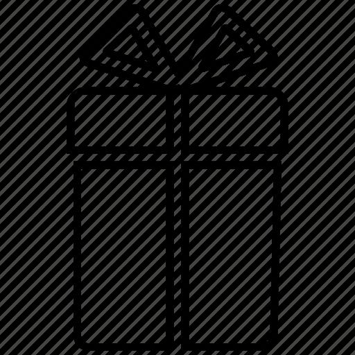 box, gift, giftbox, present icon icon icon