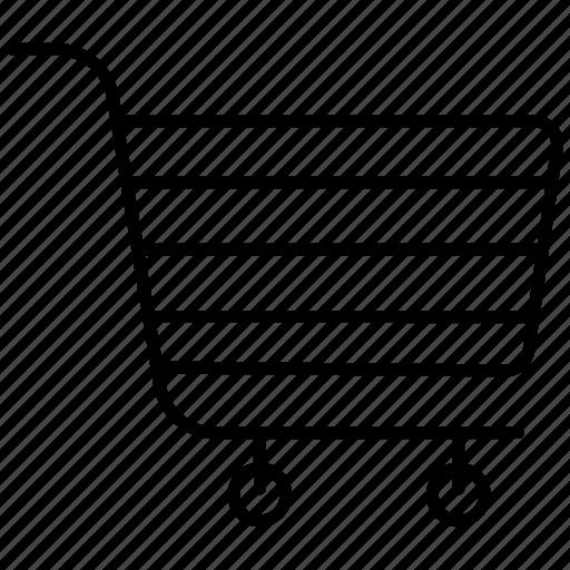 basket, cart, shopping, shopping cart icon icon icon