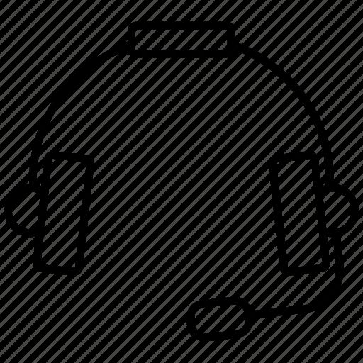 earphone, headphone, headset, sound icon icon icon