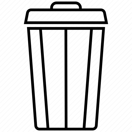 delete, dustbin, empty, recycle, recycling, remove icon icon