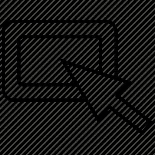click, cursor, mouse, pointer icon icon