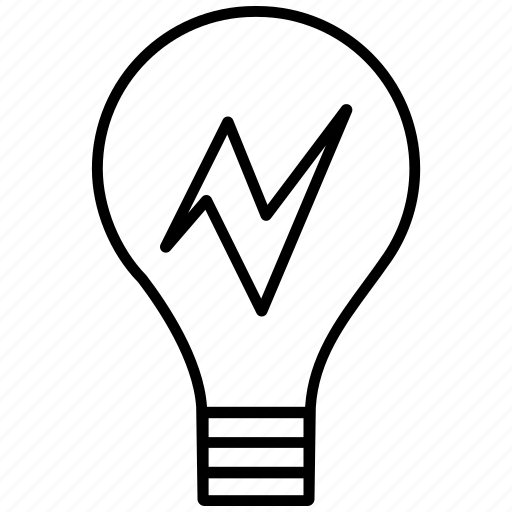 bulb, idea, innovation, invention, lightbulb icon icon icon