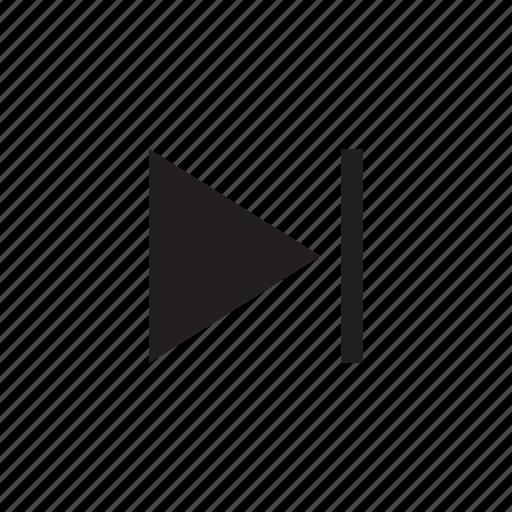 media, movie, music, next, play, player, video icon